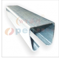 欧朋G5工业平移门折叠门镀锌金属钢板滑轨