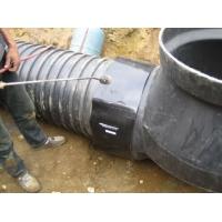 供应塑料检查井连接口聚乙烯热收缩套 pe热收缩套