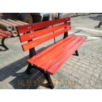 石家庄公园椅 唐山公园椅 邯郸公园椅 公园实木椅