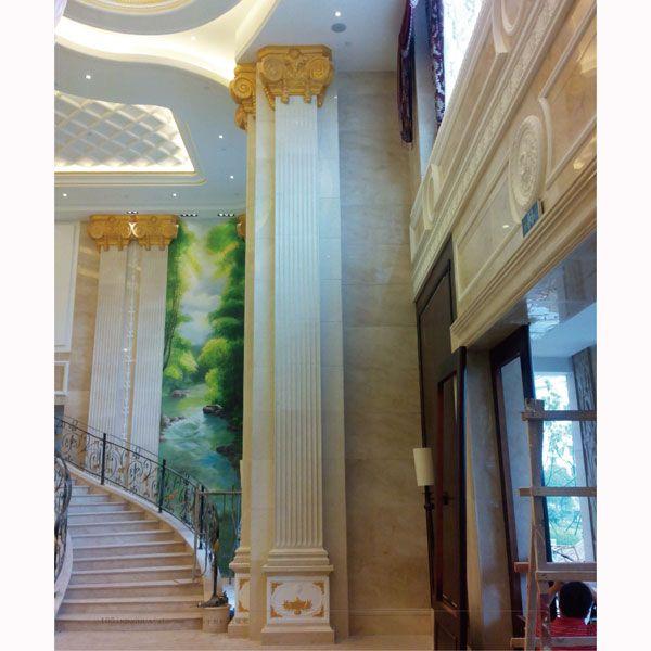 南京高派石膏线条 罗马柱头