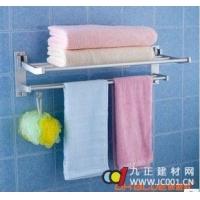 成都欧波罗卫浴--欧波罗浴室太空铝毛巾杆