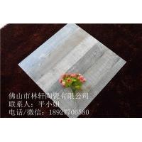 佛山瓷砖 仿古木纹砖600*600特色咖啡厅地板砖