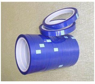 耐高温PET绝缘胶带 蓝色硅胶带