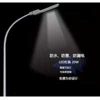扬州弘旭生产新农村建设6米自弯臂LED路灯道路照明