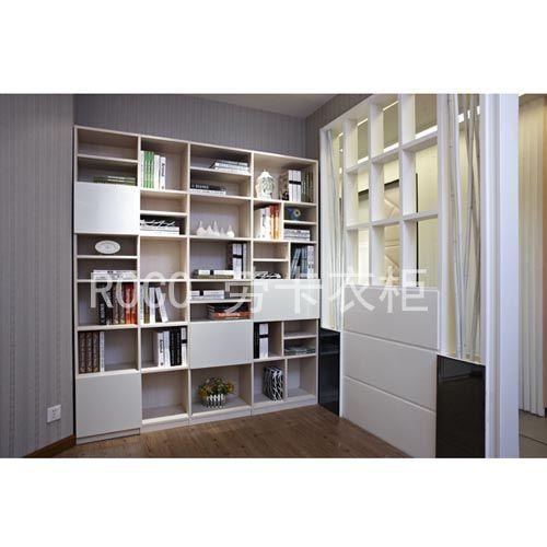 劳卡衣柜-书房家具 书柜图片