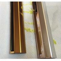 L型不锈钢线条 304不锈钢线条 拉丝不锈钢包边线条