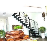成都欧雅斯艺术楼梯-钢木楼梯 12