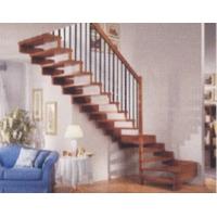 成都欧雅斯艺术楼梯-实木楼梯 13
