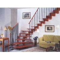 成都欧雅斯艺术楼梯-实木楼梯 9