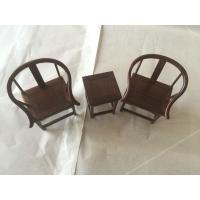微型复古红酸枝圈椅