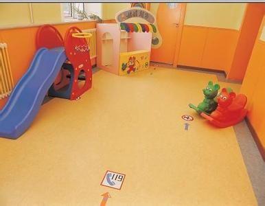 遂宁南充幼儿园纯色卡通PVC塑胶地板 早教中心PVC地板胶