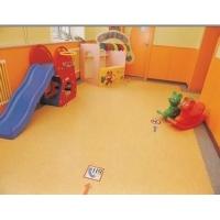遂宁南充幼儿园纯色卡通PVC塑胶地板|早教中心PVC地板胶