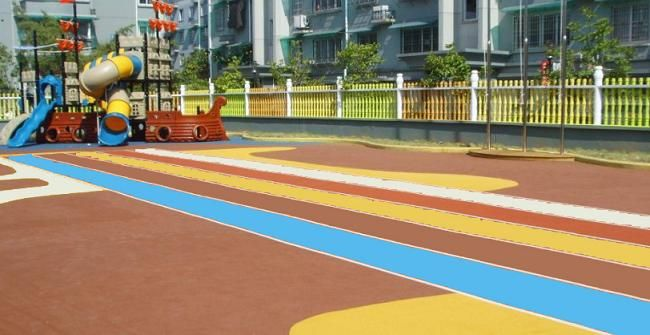 遂宁塑胶球场大英EPDM颗粒蓬溪幼儿园室外地坪射洪塑