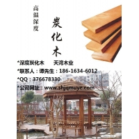碳化木防腐木 碳化木地板 碳化木涼亭