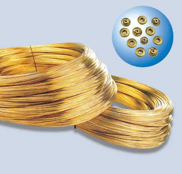 H65拉伸黄铜线 环保黄铜线 超细黄铜线