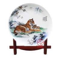 办公室摆盘,陶瓷纪念盘