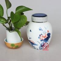 景德镇大号陶瓷膏方罐子