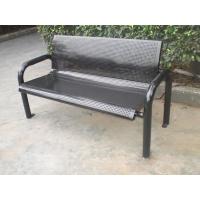 户外铁艺公园椅 小区金属休闲椅 户外铁制长凳