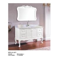 立波卫浴-PVC系列实木浴室柜LB-3077