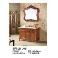 立波卫浴-PVC系列实木浴室柜LB-3084