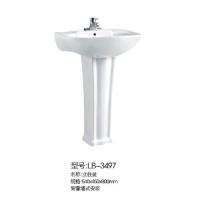 立波卫浴-立柱盆系列LB-3497