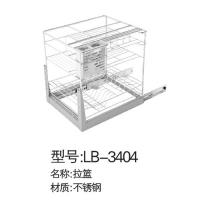 立波卫浴-挂件系列太空铝拉篮LB-3404