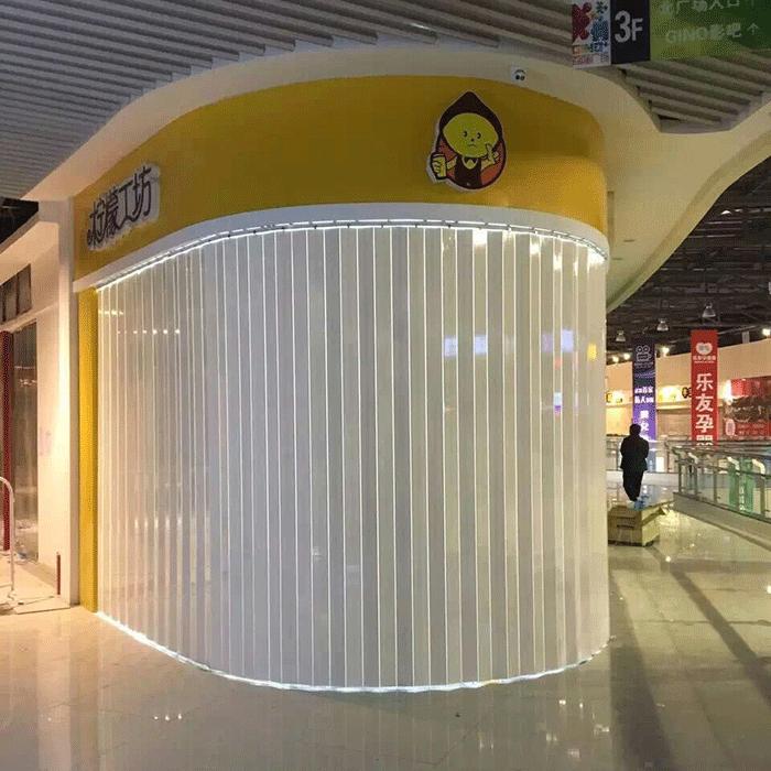 民畅门业-PVC折叠门