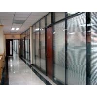 厦门内置铝百叶中空玻璃隔断定制(电动/手动)