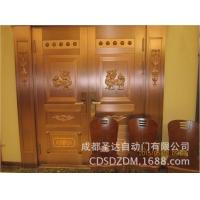 酒店铜门,别墅铜门,豪华铜门,圣达自动门