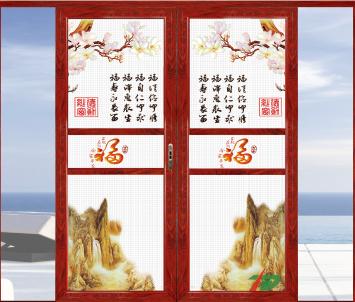 佛山伊琪雅厂家直销 艺术防盗纱窗(按需求订制艺术纱窗类型)