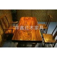 南京餐厅红木家具-桌椅-南京祥鑫红木家具