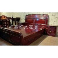 南京卧室红木家具-床-南京祥鑫红木家具