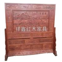 南京红木工艺品摆件-屏风-南京祥鑫红木家具