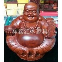 南京红木工艺品摆件-弥勒佛-南京祥鑫红木家具