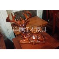 南京红木工艺品摆件-路路来财-南京祥鑫红木家具