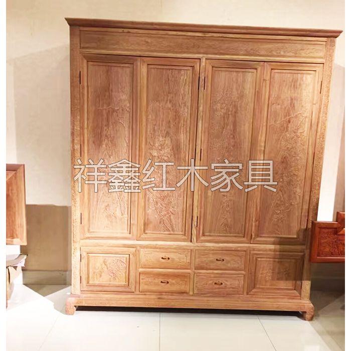 南京卧室红木家具-衣柜-南京祥鑫红木家具
