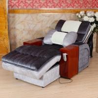 江润足疗足浴沙发 双电动沙发躺椅 单人休闲布艺沙发 简约休息