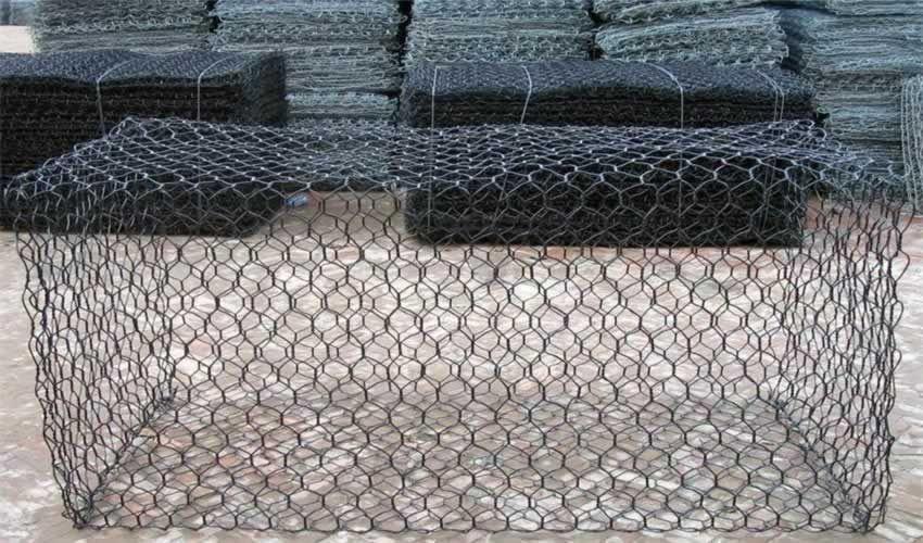 浸塑石笼网 镀锌钢丝石笼网 山体护坡网价格