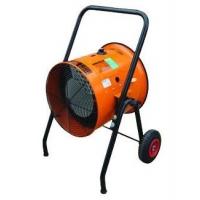 橘黄圆形电暖风机S10