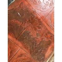 酸着色艺术地坪,高渗压花地坪的室内艺术应用