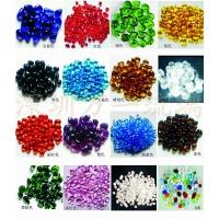 宝石般的环保新建材——多彩琉璃石/水晶石/玻璃石米
