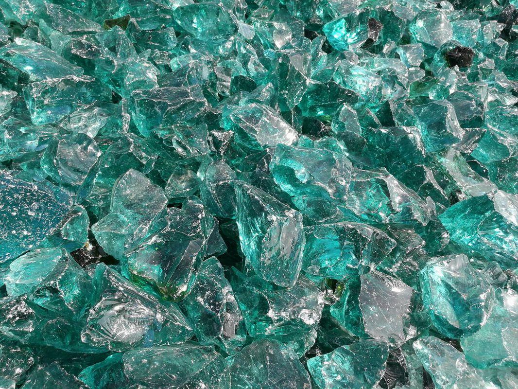 彩色水晶玻璃石头,灯光石笼挡墙 水景堆装用玻璃石块