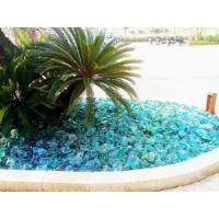 琉璃(玻璃)石块 景观树池/水池装饰石/叠石/置石