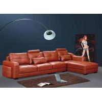 高档真皮沙发/客厅休闲皮沙发/时尚现代简约转角沙发D602