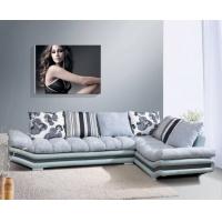 现代简约休闲转角休闲布艺沙发 顺德直销客厅家具D801#A