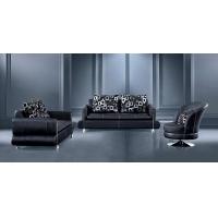 现代简约休闲转角休闲真皮沙发 顺德直销客厅家具D805#A