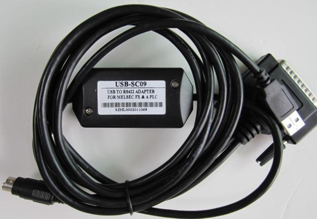 成都三菱PLC编程电缆
