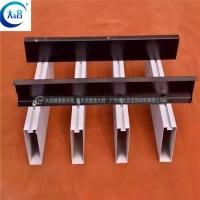 铝方通多少钱U型铝方通 室内棕色U型铝方通 棕色弧形铝方通