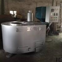 生物颗粒熔铝炉/180T压铸机熔铝炉