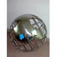 不锈钢地球仪造型 不锈钢装饰制品